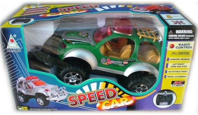 Детска играчка Джип с радиоуправление във всички посоки - напред, назад, наляво и надясно 2005