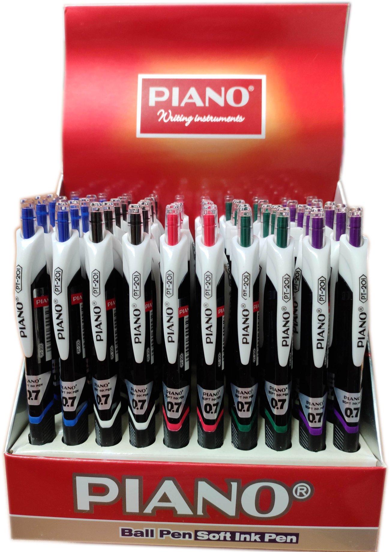 Химикал Пиано Piano Ball Pen 0.7 mm PT - 201
