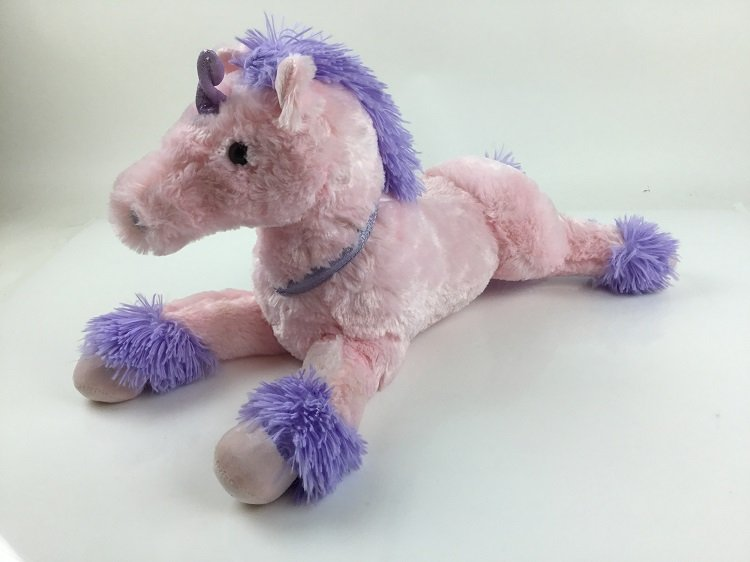 Плюшена играчка Розов еднорог Paul Import GmbH 40 см