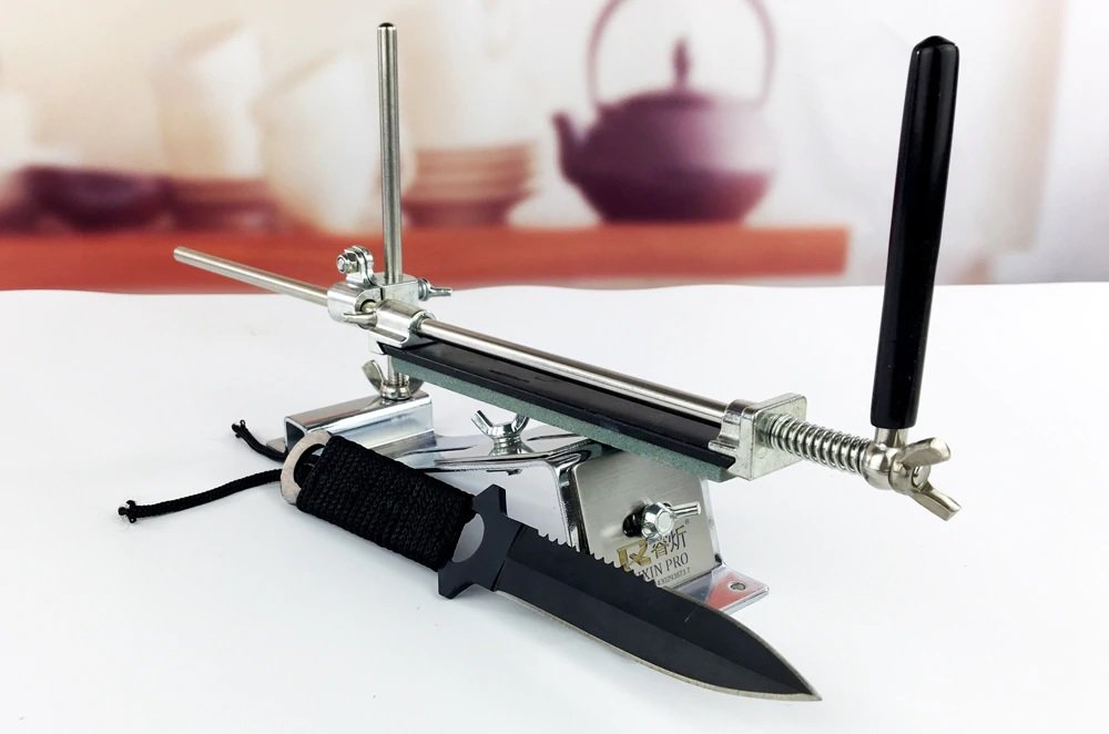 Уред за заточване на Ножове под фиксиран ъгъл, абразиви 120, 320, 600, 1500 Точило