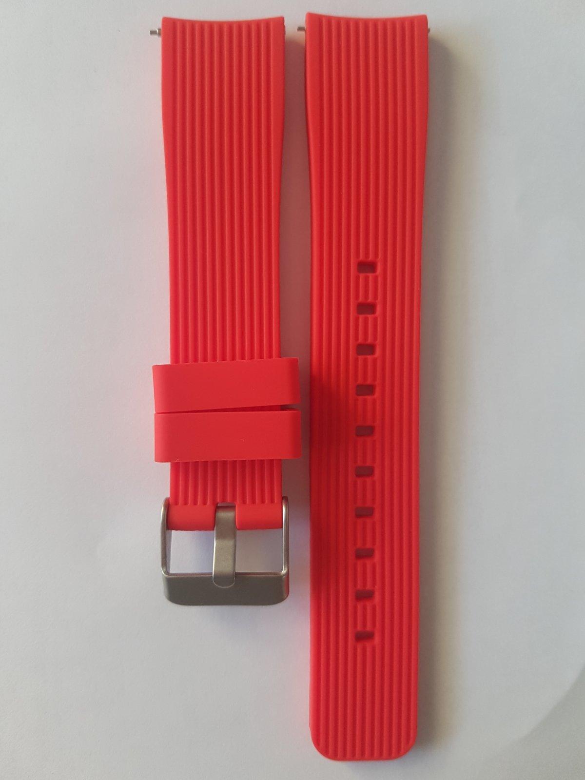 Силиконови Каишки за Samsung gear 2,Garmin vivoactive3/vivomove 20 мм