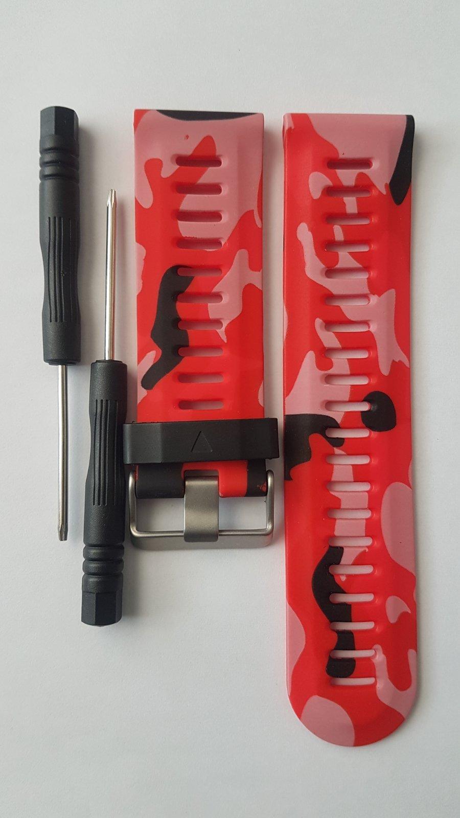 Силиконови камуфлажни каишки 26mm за Garmin Fenix 1/2/3/3 HR 5X каишка