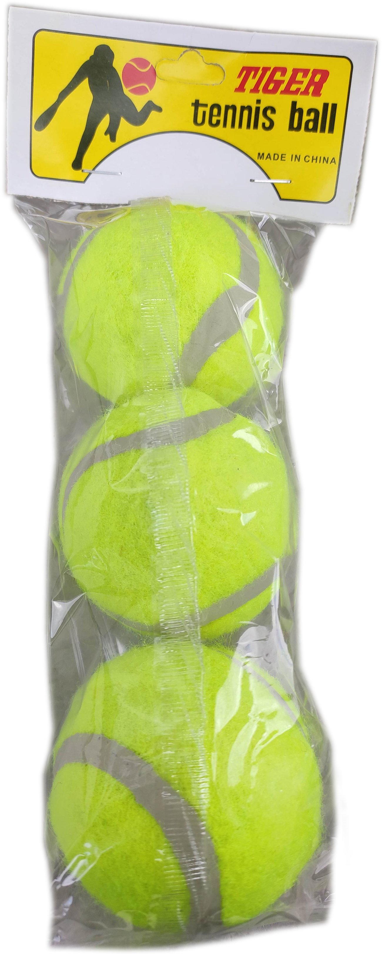 Комплект топка за тенис на корт с 3 броя топки