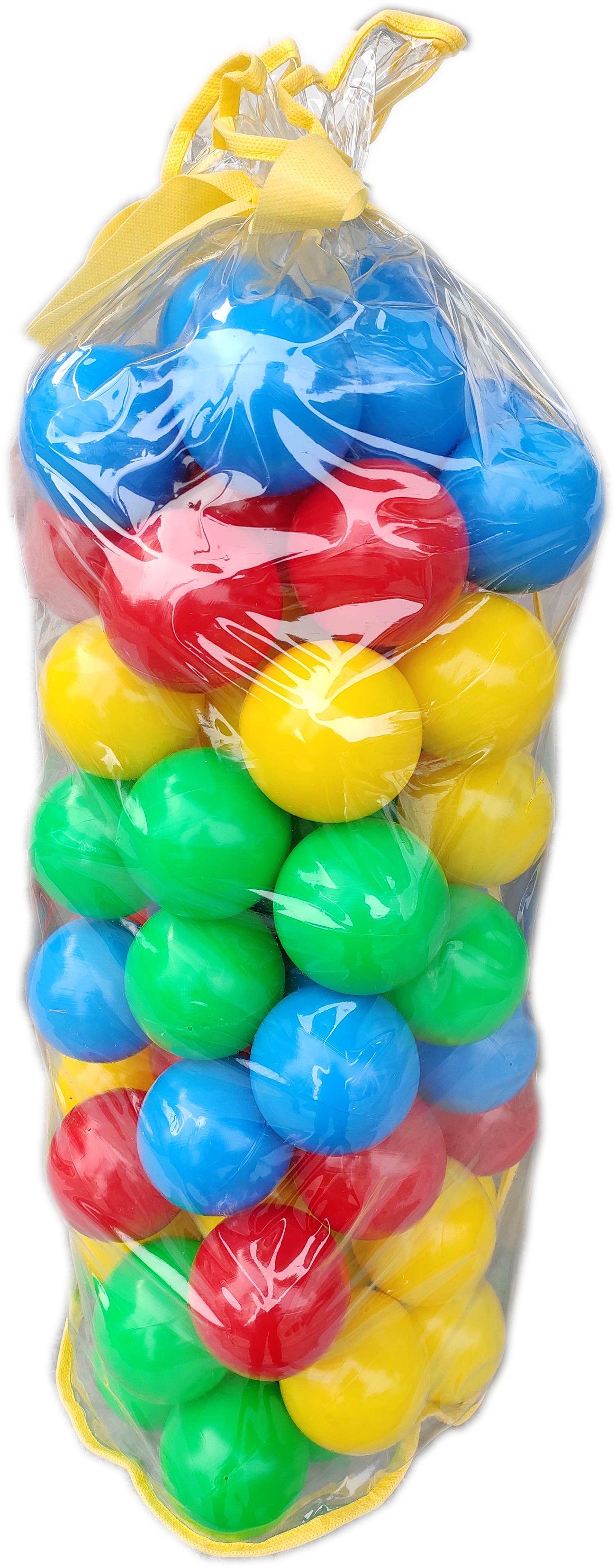 Детски Комплект пластмасови топки за игра в детски център или басейн