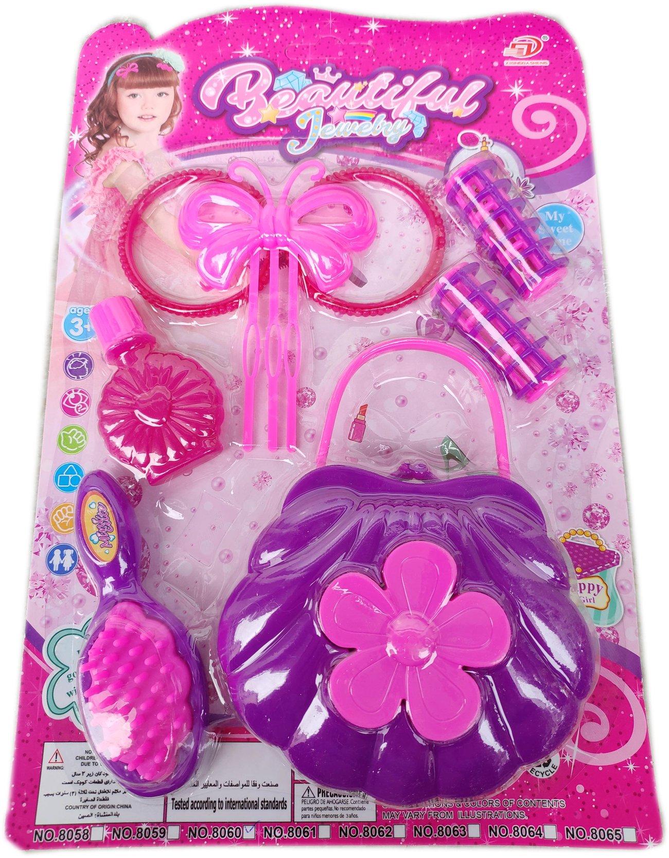 Детски комплект Бюти с аксесоари за коса и с чантичка