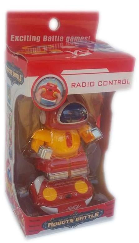 Детска играчка Робот с дистанционно управление и радиоуправление