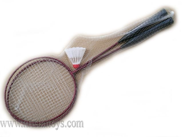 За движение, спорт и здраве - Федербал метален с перце