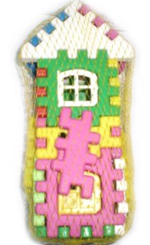 Конструктор двуетажна къща с прозорци
