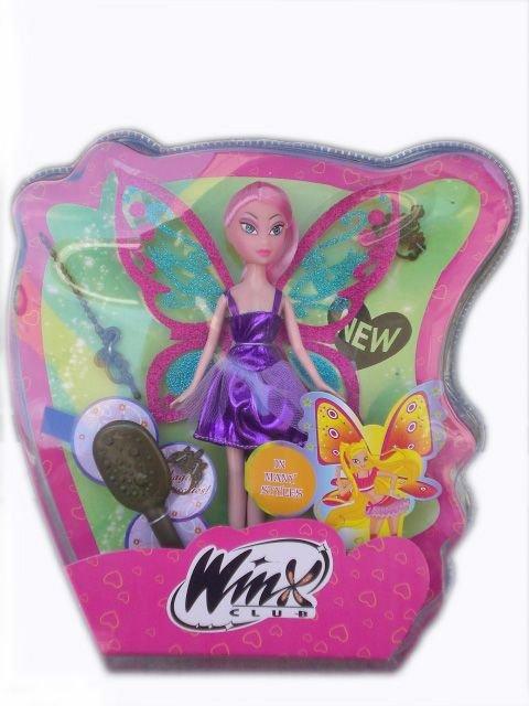 Кукла Уинкс с розова коса с аксесоари Winx