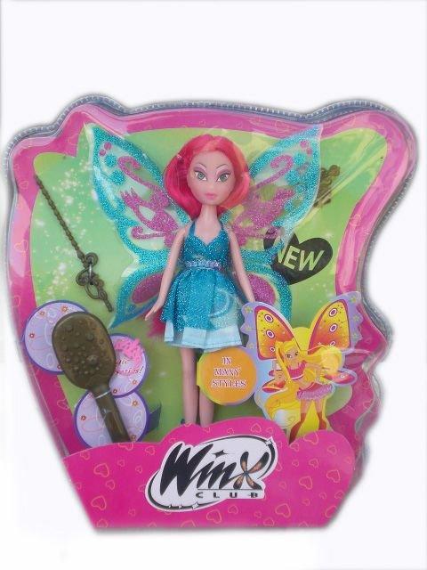 Кукла Уинкс с червена коса с аксесоари Winx