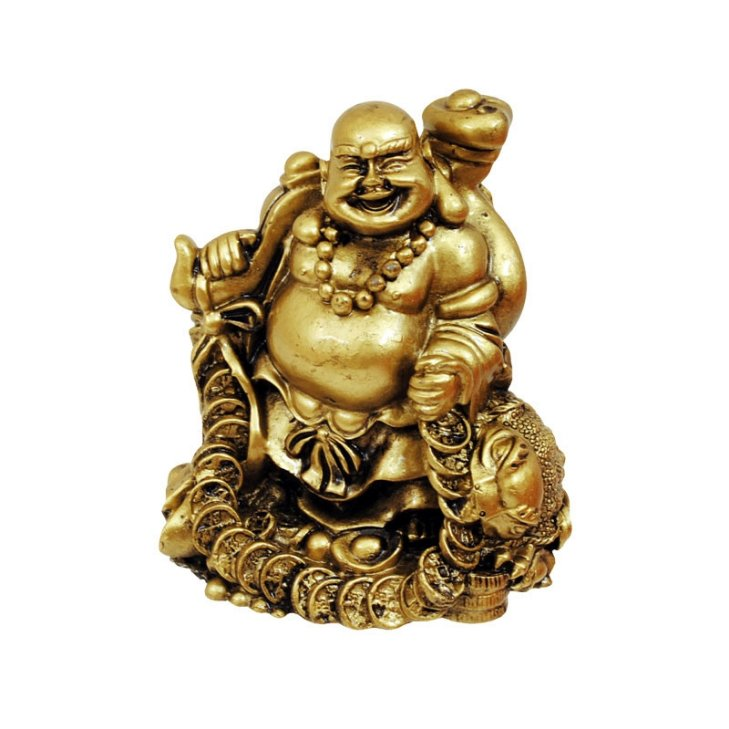 "Статуетка ""Смеещият се Буда с трикрака жаба"""