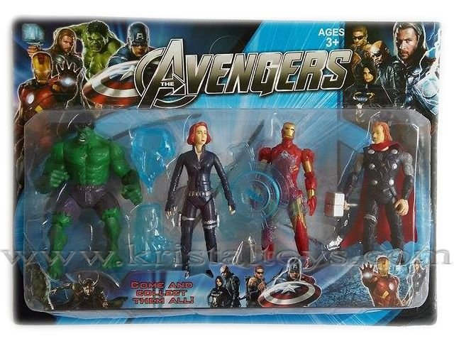 Отмъстителите Avengers, детска играчка комплект герои