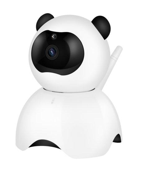 IP камера Smart HD IP Camera Панда Wireless WIFI TF карта до 64 GB iOS Android Windows бебефон нощно виждане двупосочно аудио