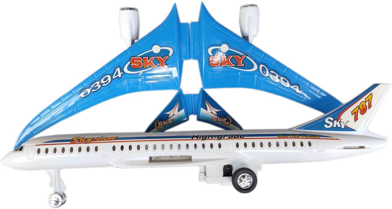 Самолет, механичен, сглобяем макет Боинг 787