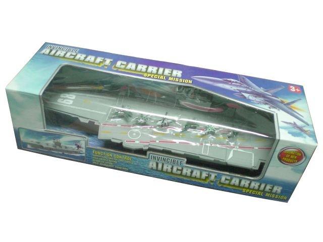 Самолетоносач със самолети, комплект детска играчка