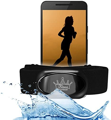 Гръден колан BerryKing Heartbeat Fitness Gym Bluetooth ANT+ IOS Android App пулсов сензор за сърдечен ритъм