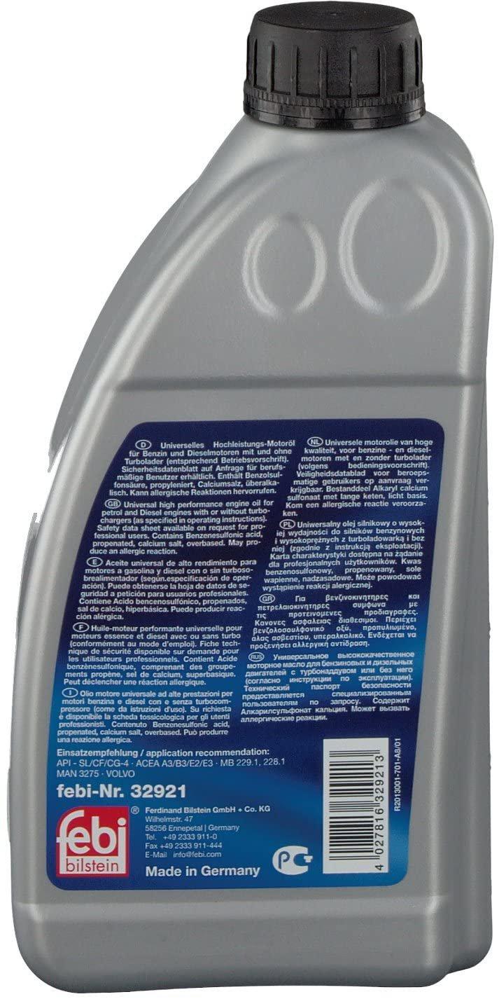 Моторно масло Febi 32921 SAE 20W-50 1 литър