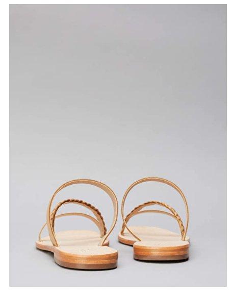 Дамски чехли Find Diagonal Weave Mule Peeptoe Sandalen SANA-1W3-021 сандали