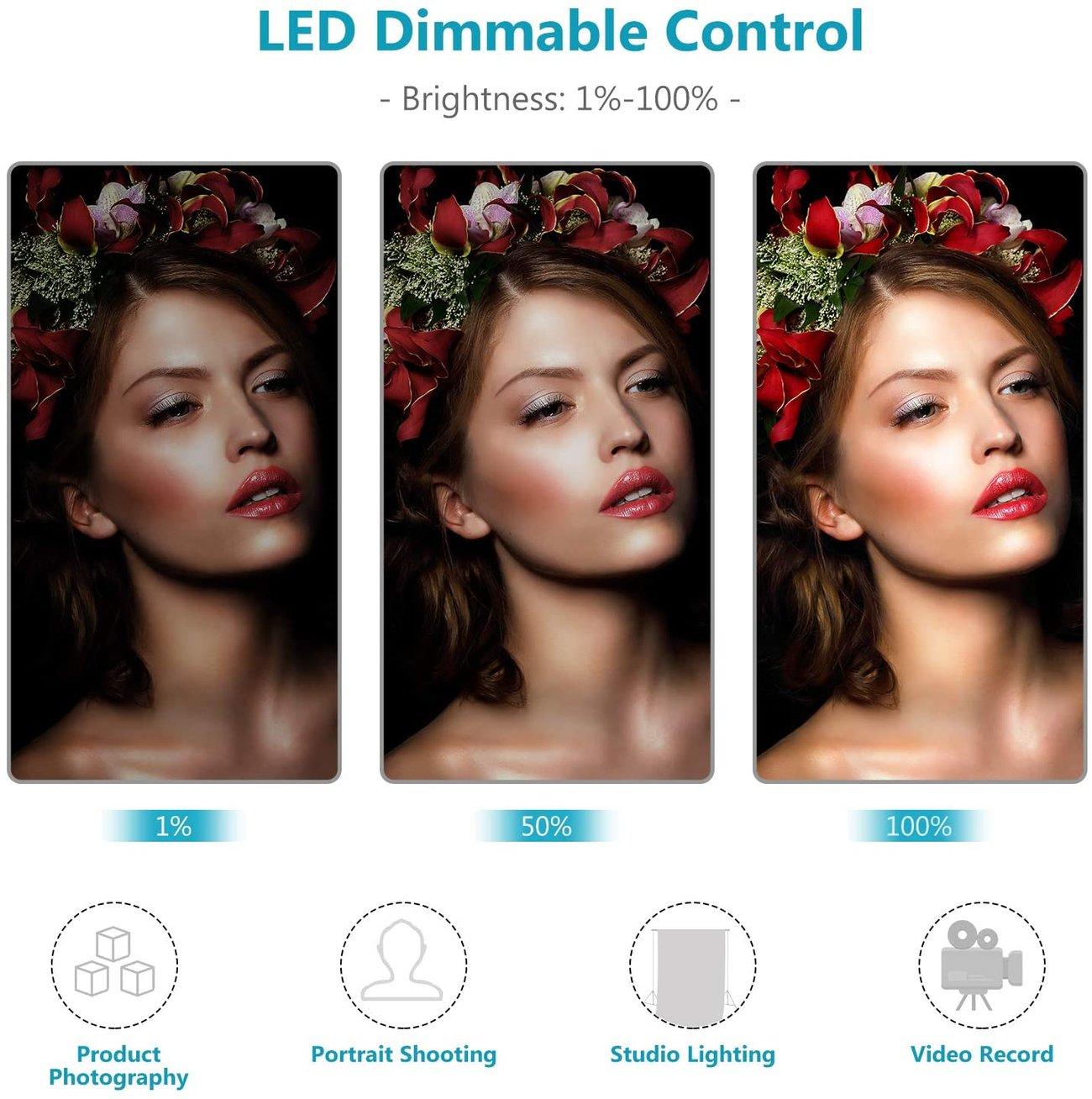 Професионално студийно осветление фото видео Neewer 10095030 Осветление за фото видео студио