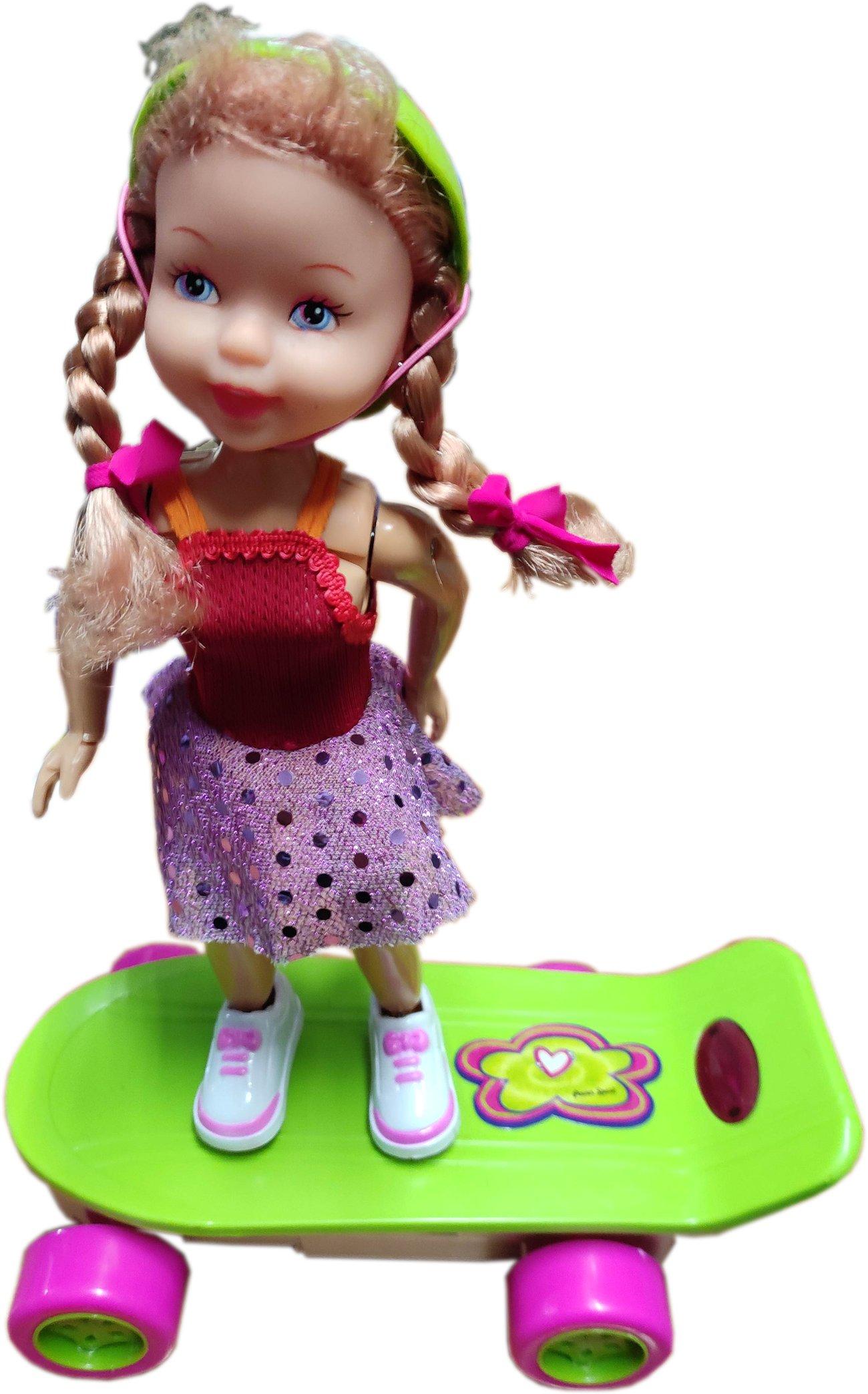 Кукла на скейтборд