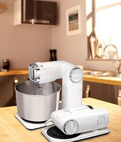 Кухненски робот Ambiano 54631 300W 3.5L 6 скорости Сгъваем планетарен миксер