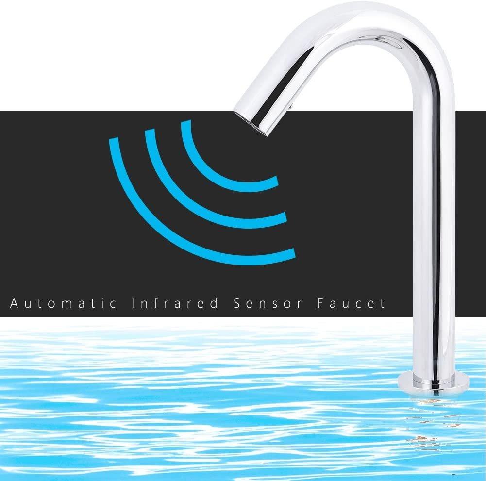 Безконтактен кран за мивка Zerodis Brass с Инфрачервен сензор смесител