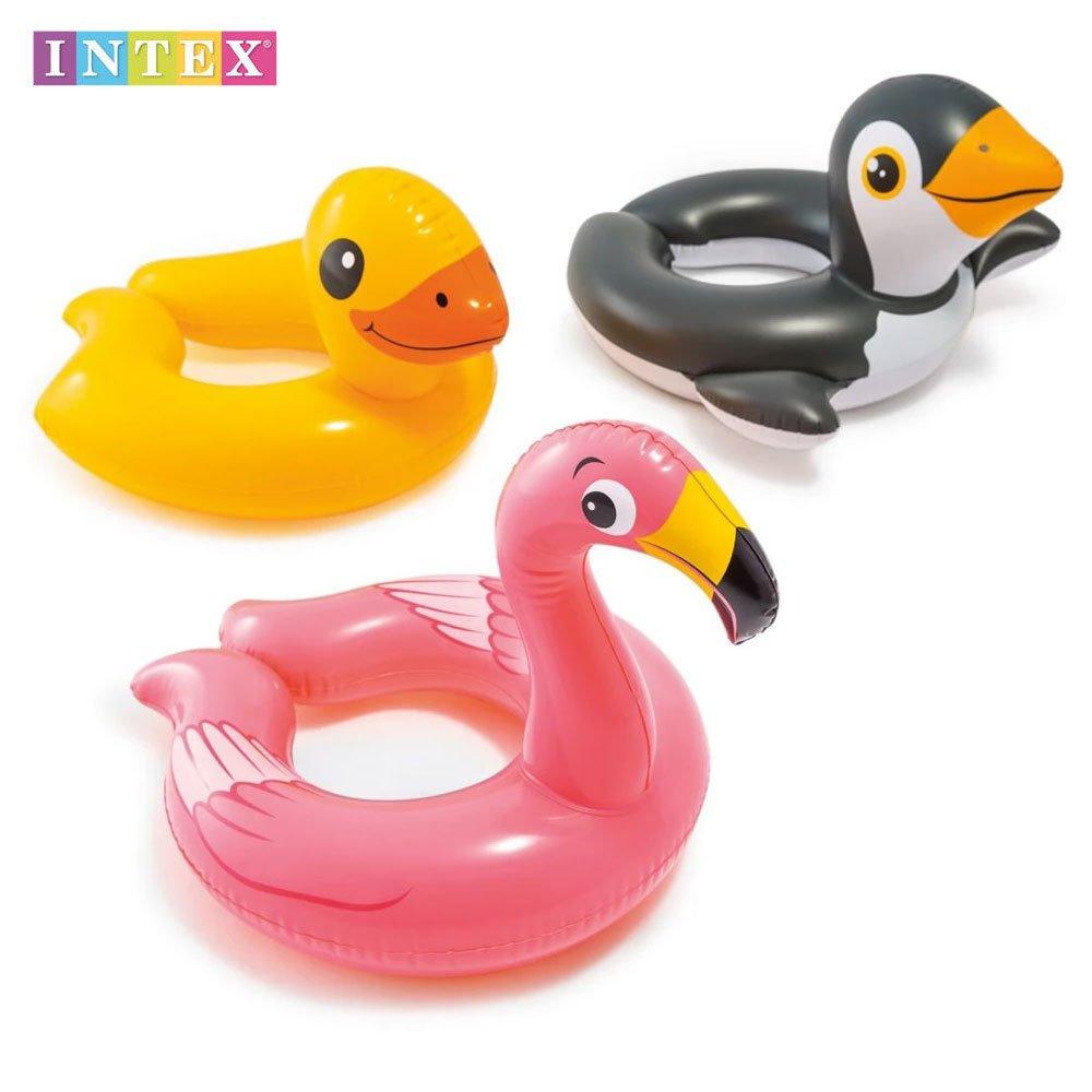 Пояс с животно Фламинго, Пингвин и Пате, 51 см., Intex