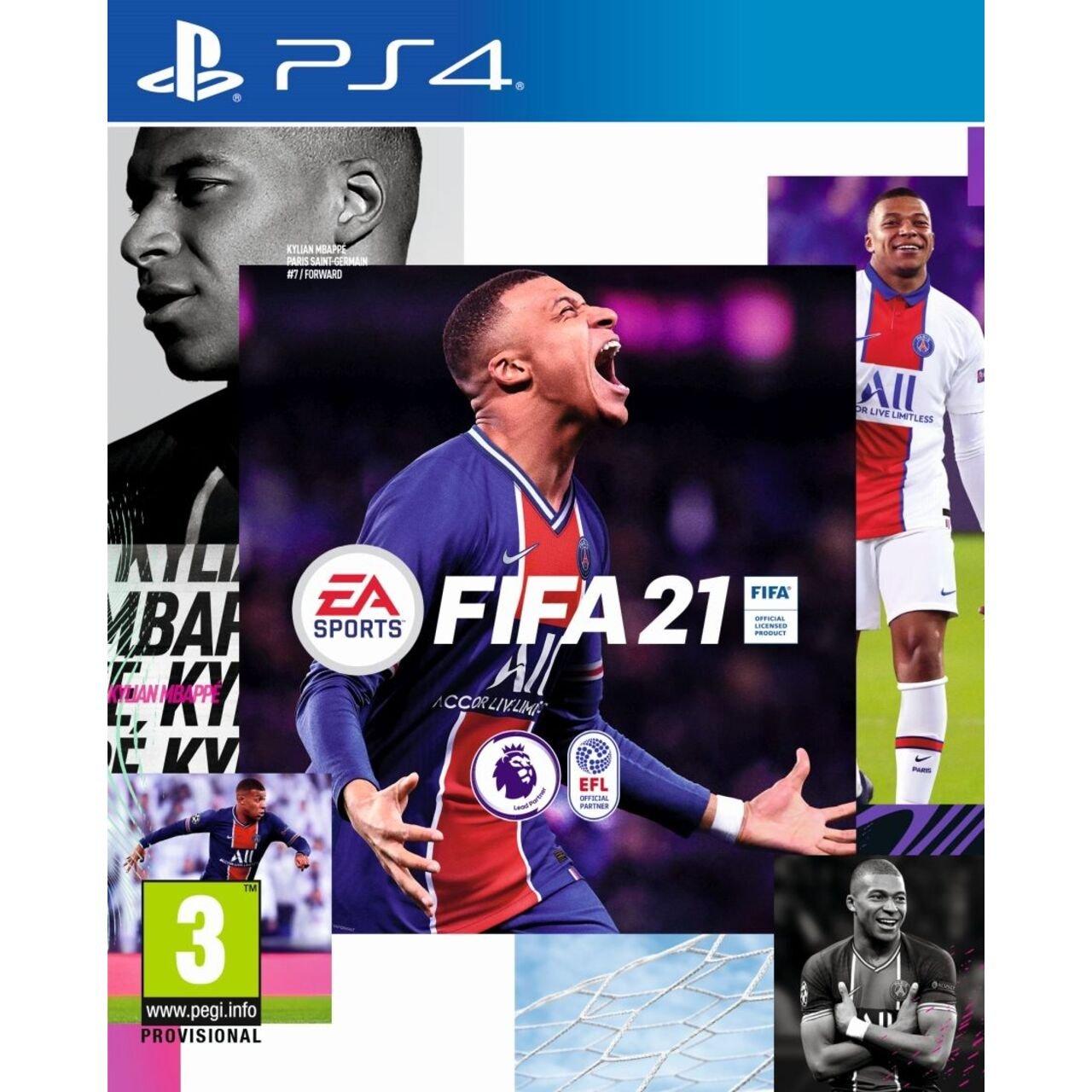 Игра EA Sports FIFA 21 (PS4)