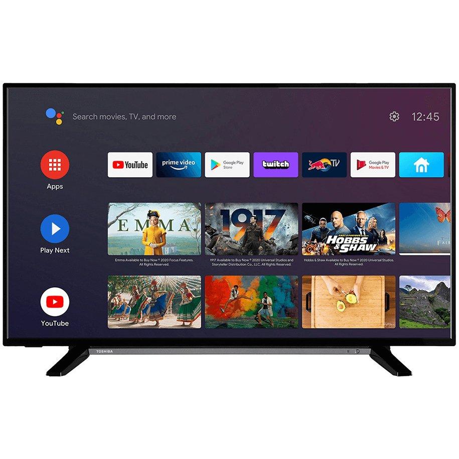 "Телевизор TOSHIBA 43LA2B63DG LED  SMART TV, ANDROID, 43.0 "", 108.0 см"