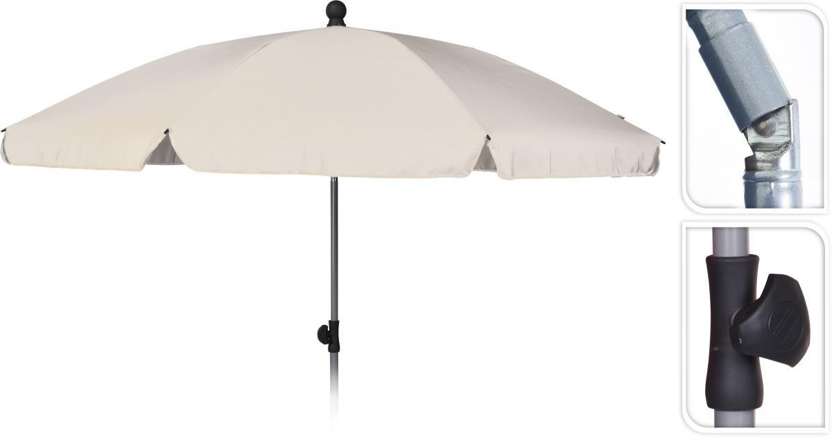 Балконски чадър ф200см, крем