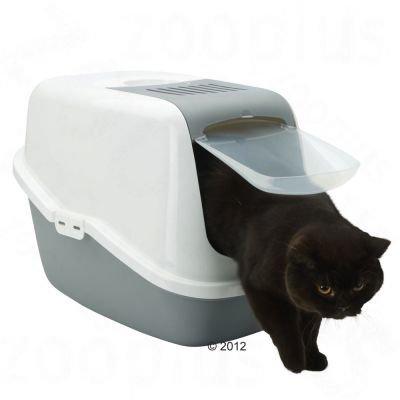 Котешка тоалетна Beeztees Savic Cat Nestor Jumbo XXL закрита Хигиенна кутия за котки
