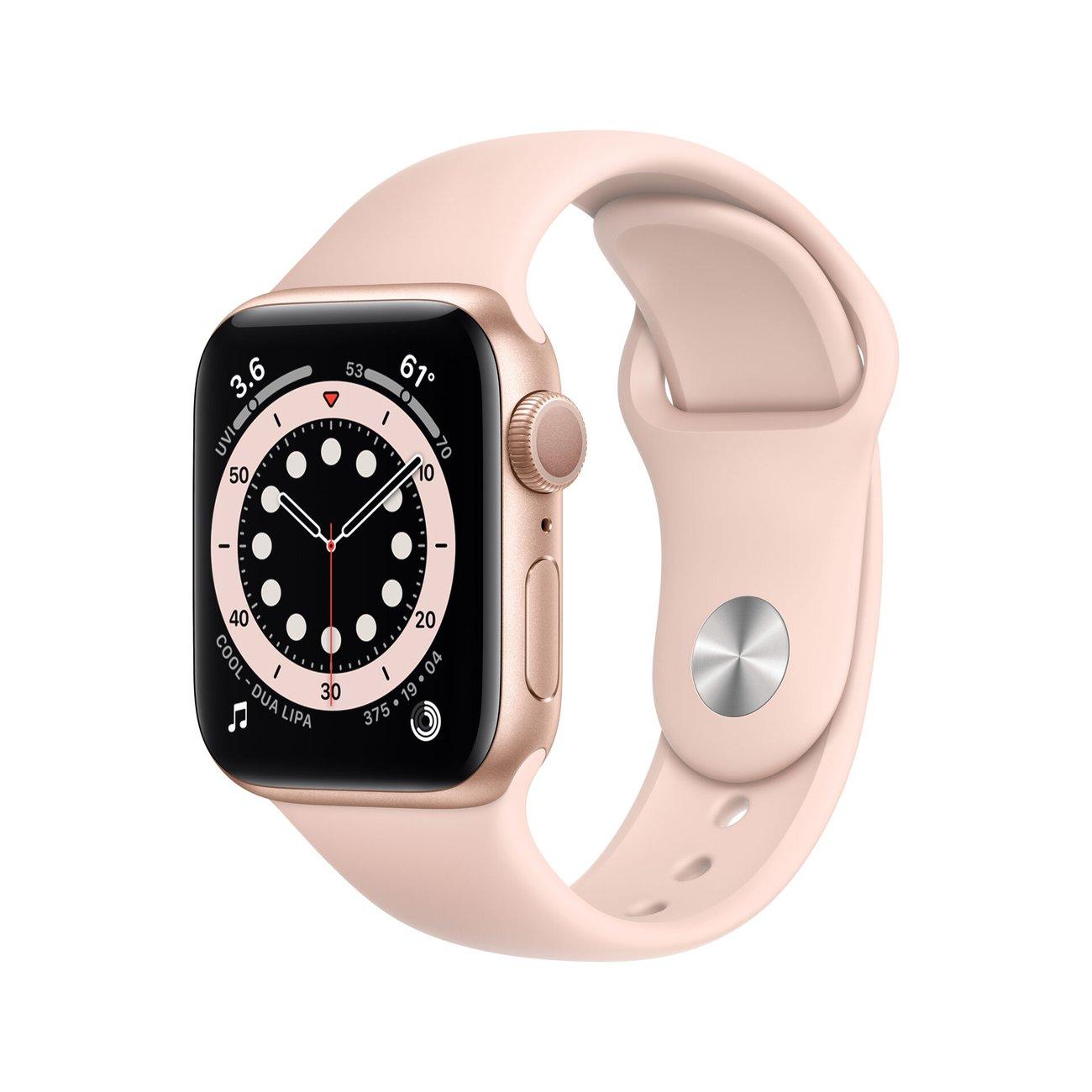 Смарт часовник Apple Watch 6 40mm Gold/Pink