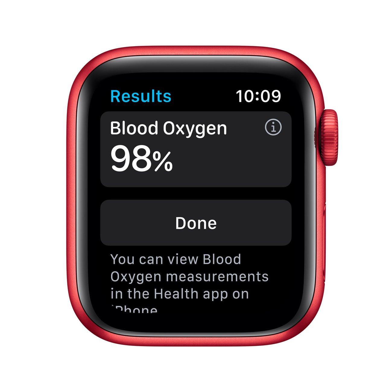 Смарт часовник Apple Watch 6 40mm RED/RED