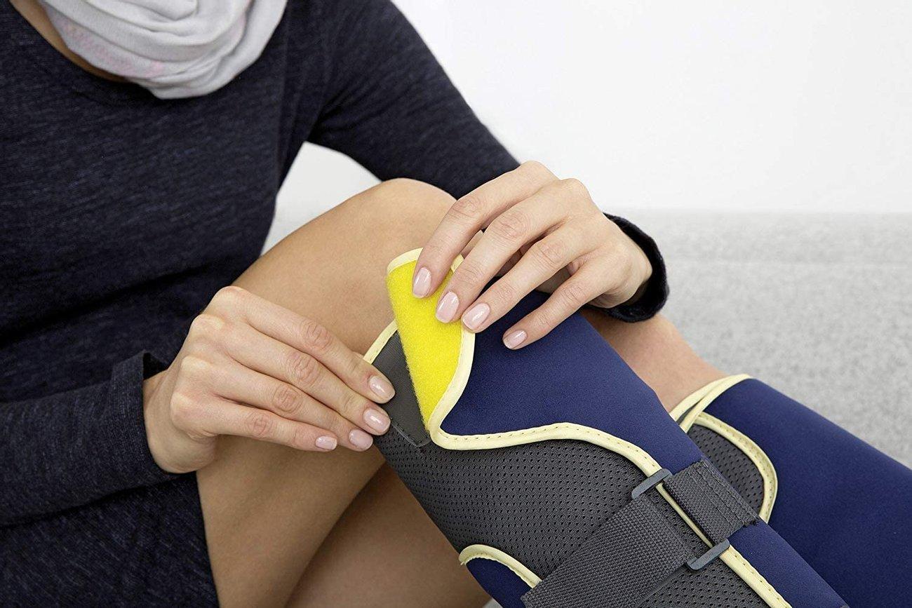 Масажор Beurer FM 150 за крака Компресионен масажор Тренажор