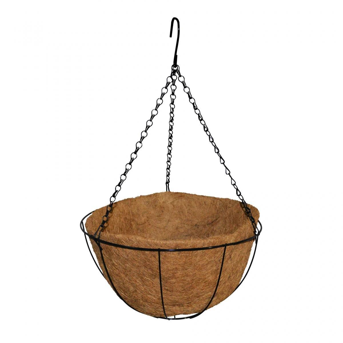 Висяща кокосова саксия Ф25 см