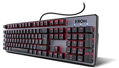 Механична клавиатура Krom Kernel NXKROMKRNL RGB гейминг светеща Gaming Keyboard