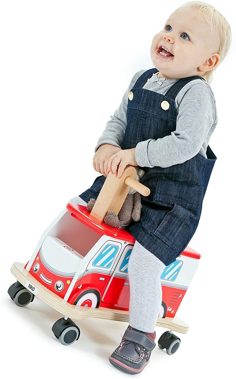 Детска количка за каране Tidlo Ride on Camper Van T-0120 балансьор кемпер ван ездач проходилка