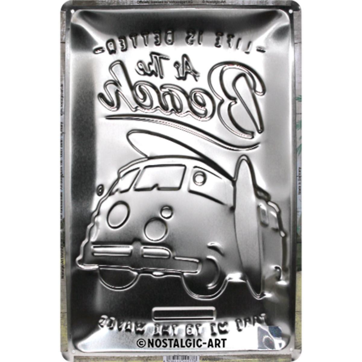 ТАБЕЛА 20Х30-VW BULLI-ПЛАЖ