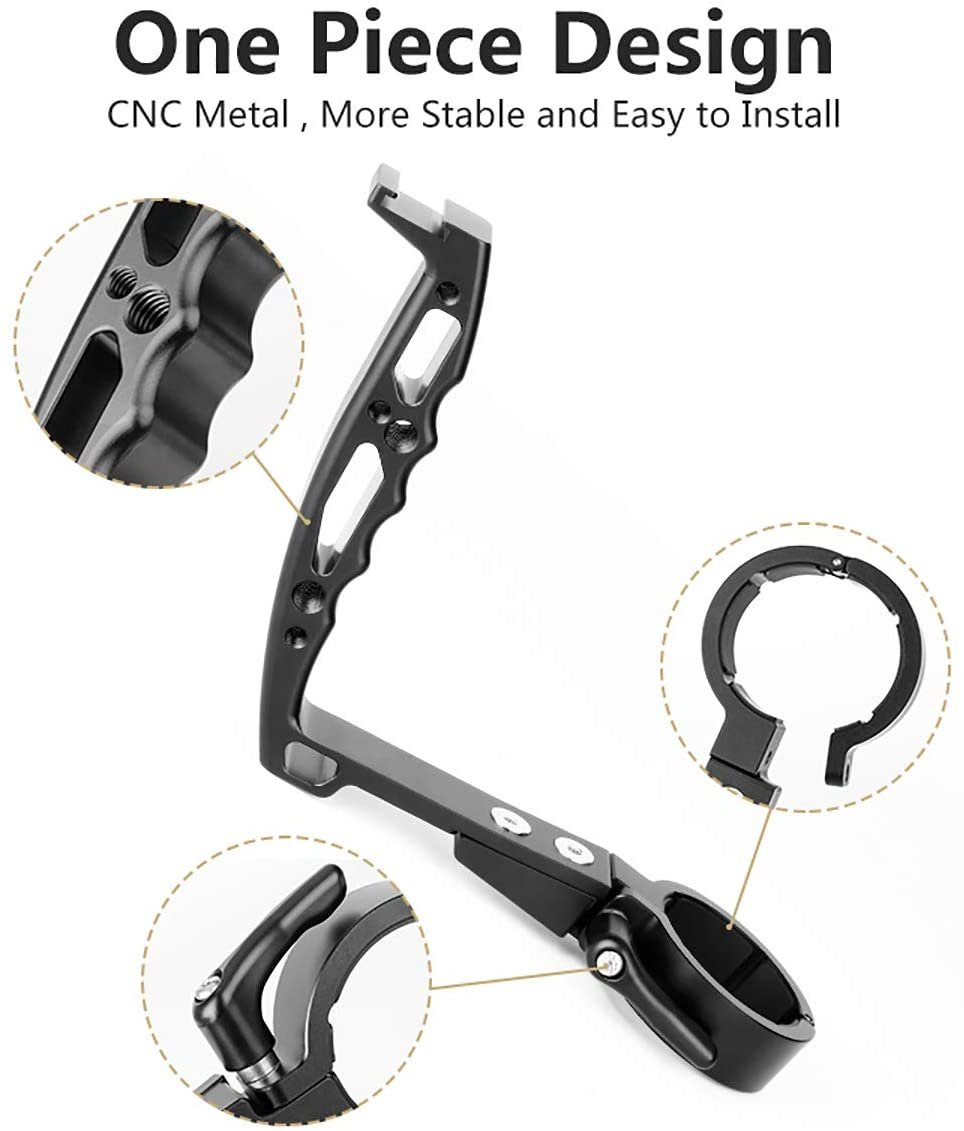 Ръкохватка за стабилизатор DJI Ronin S Gimbal AgimbalGear DH09 дръжка държач за фотоапарат стойка за камера