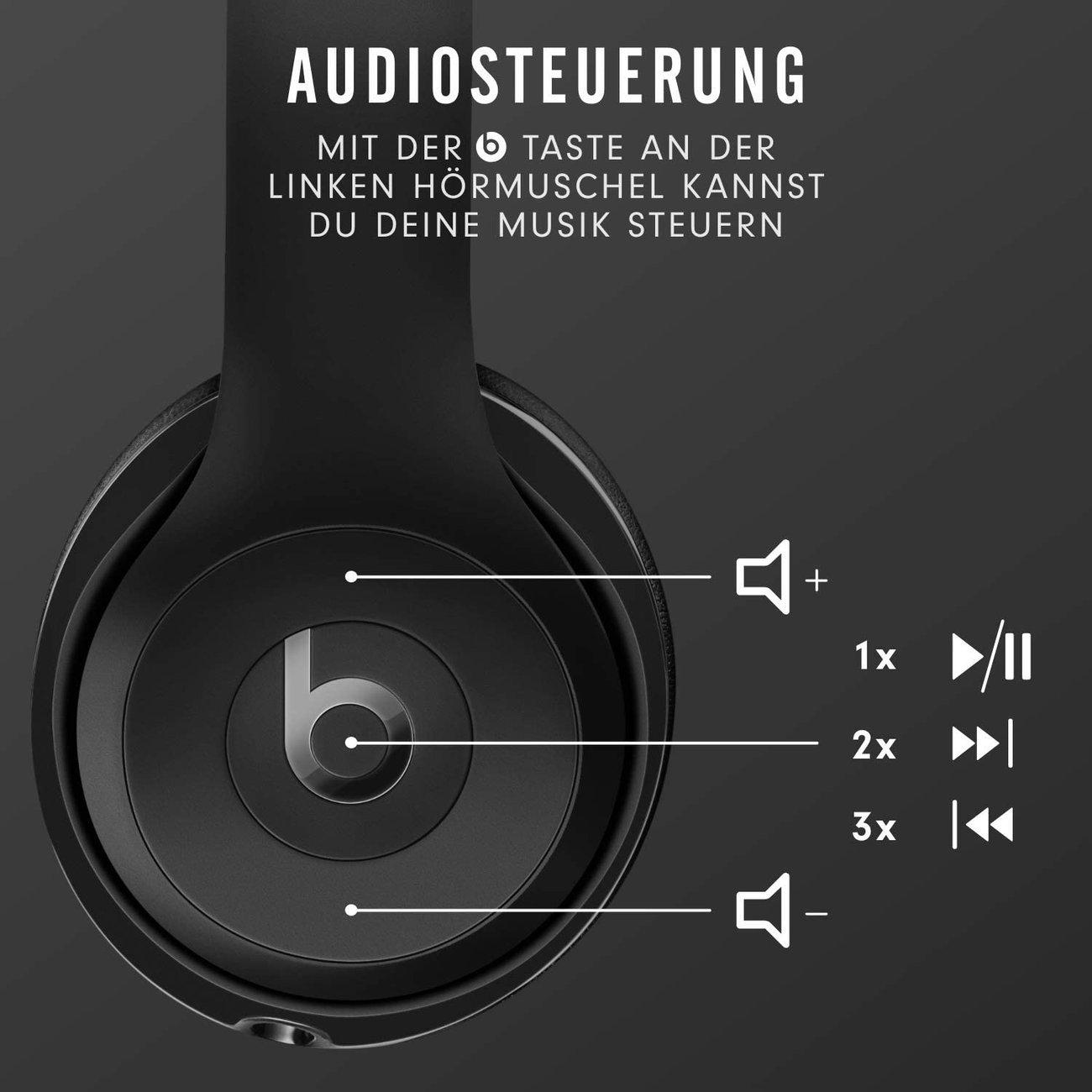 Слушалки Beats Solo 3 by Dr. Dre Безжични черен мат