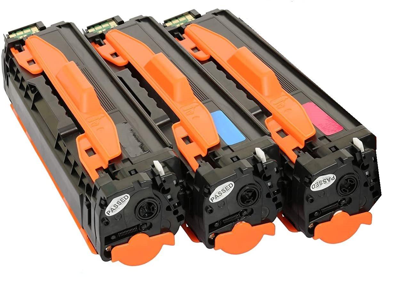 Съвместима тонер касета за принтер Toner Expert CLT-504S Samsung CLP-415N черен син червен цвят