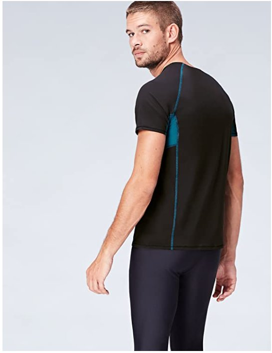 Мъжка спортна тениска Activewear Men's Sports Top SFP6-M01 M дишаща материя