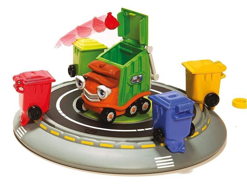 Детска играчка Falomir Trash Truck 29778 боклукчийски камион за рециклиране