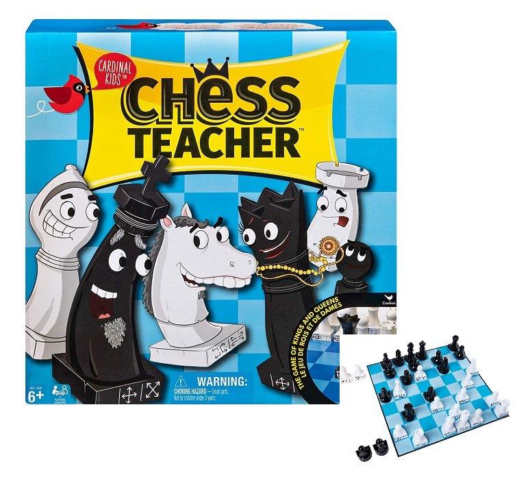 Настолна игра шах Cardinal Kids Chess Teacher детски шах обучителен
