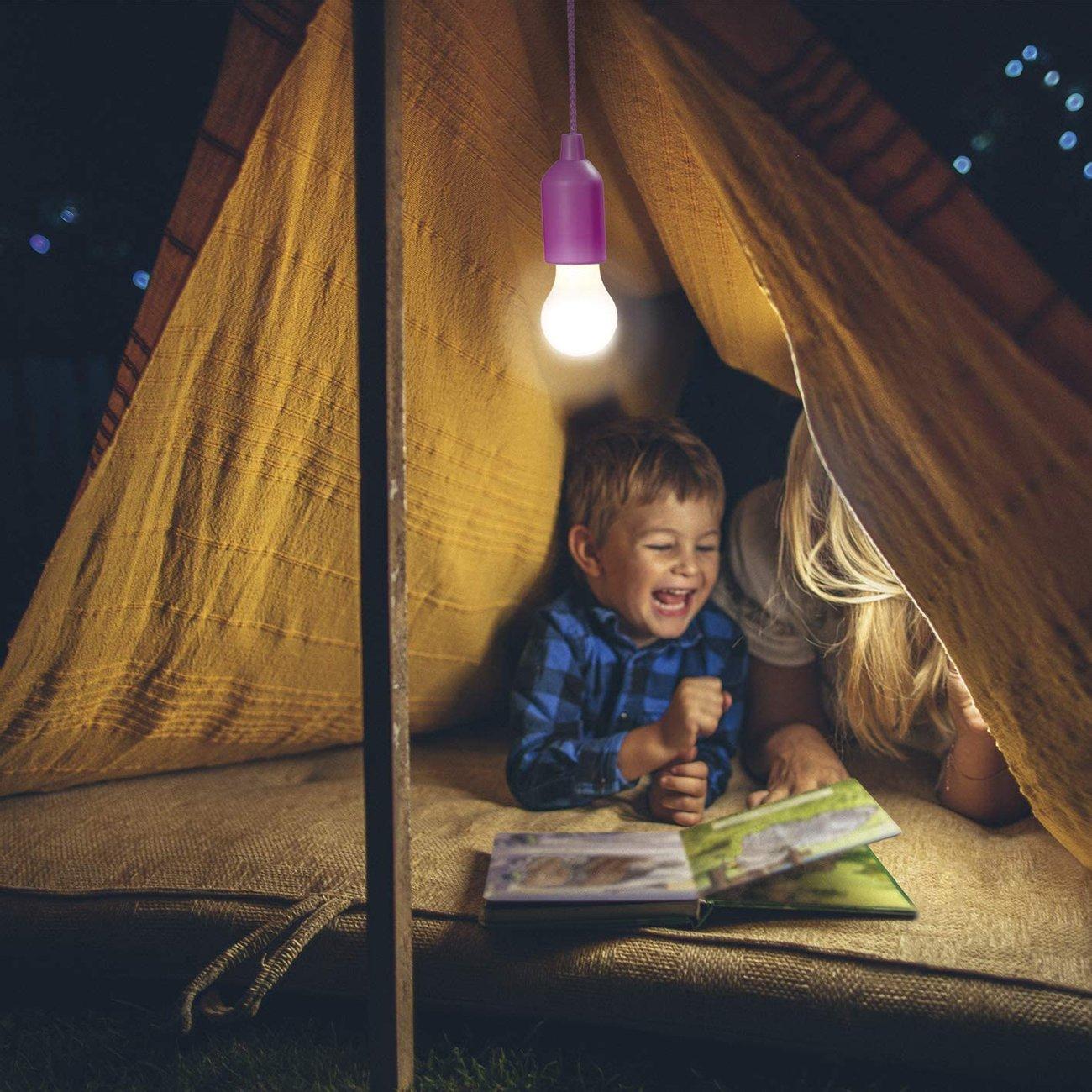 Комплект LED лампи с цветни фасонки Easymaxx LED Flexibel 0.5 W 4 броя