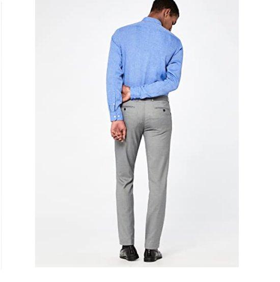 Мъжки елегантен панталон Hem and Seam Men's AMZ126 L/XL 36W 31L