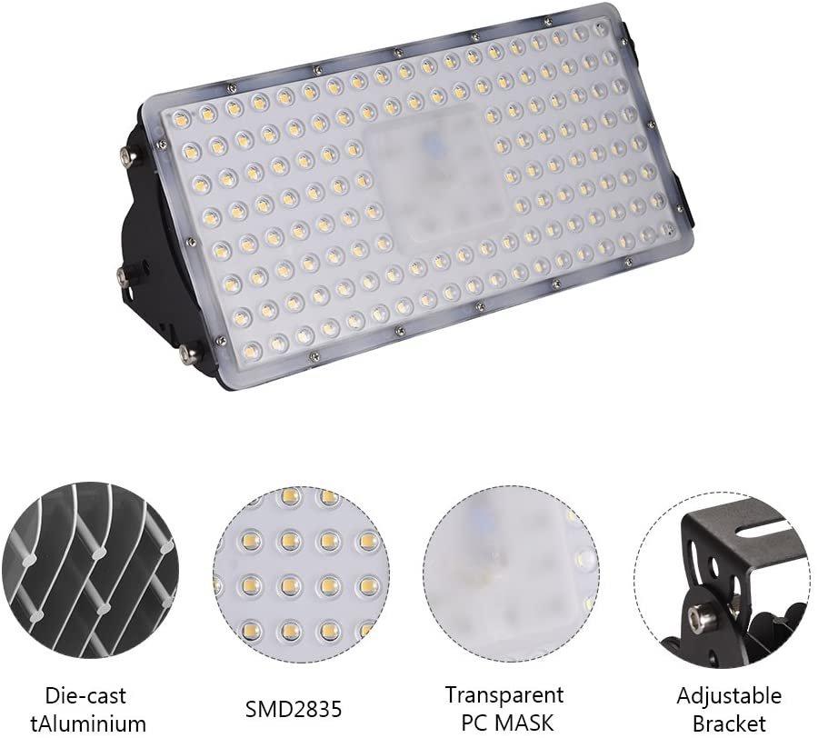 LED прожектор Viugreum DF01 100 W 10000 LM 6500 K фенер