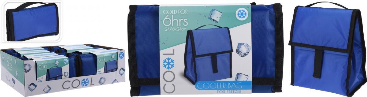 Хладилна чанта 24x16x24.5см, син