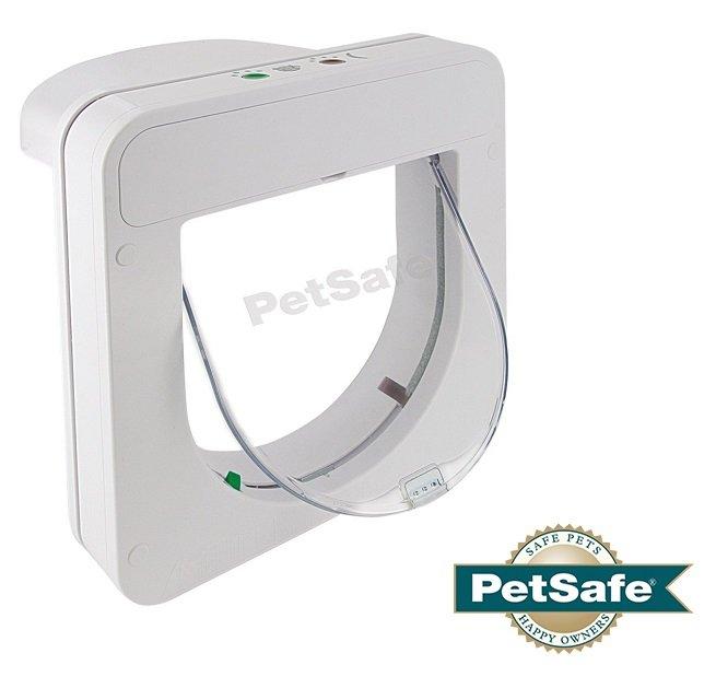 Врата за котки с четец PetSafe 100 ML стандартни микрочипове на ЕС