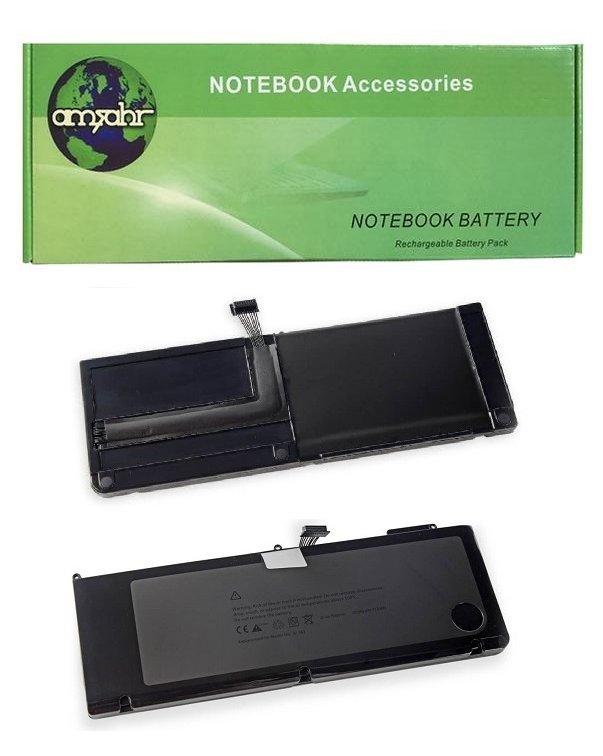Външна батерия Amsahr A1382 10.95 V 7080 mAh за лаптоп Apple MacBook Pro A1286 15 инча